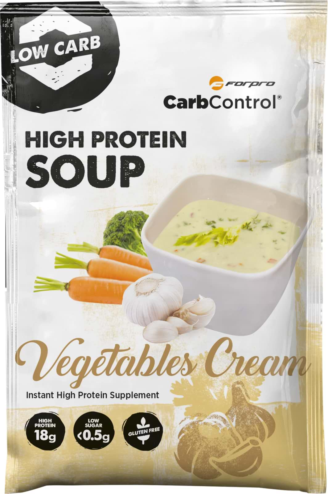 High Protein Soup Vegetables Cream